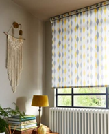 Ribbon Daffodil window blind