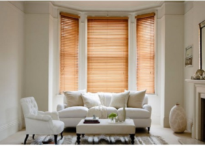 Wooden Venetians and Vision Blinds